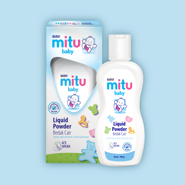 Launch of Mitu Baby Liquid Powder, a safer baby powder solution for millennial moms