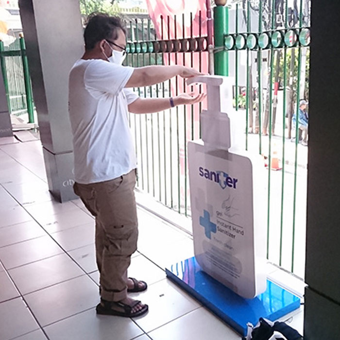 Building Initiative of #IndonesiaTerlindungi, Saniter Collaborates with Kereta Commuter Indonesia to Protect Users from COVID-19